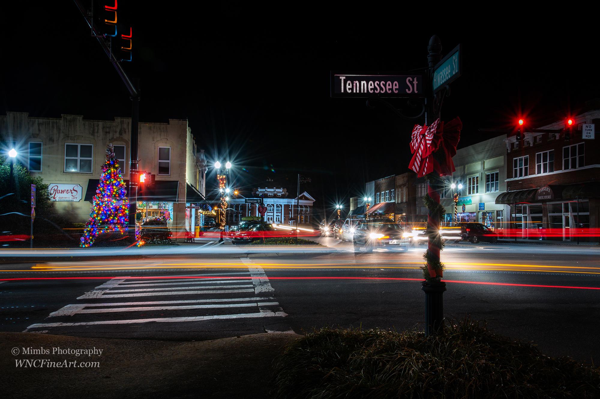 December Night Traffic